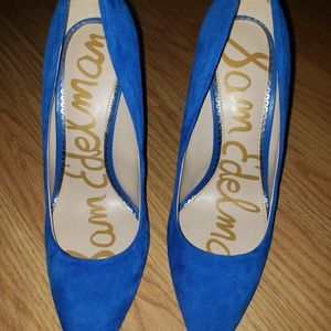 Sam Edelman Pump Blue Pointy shoes